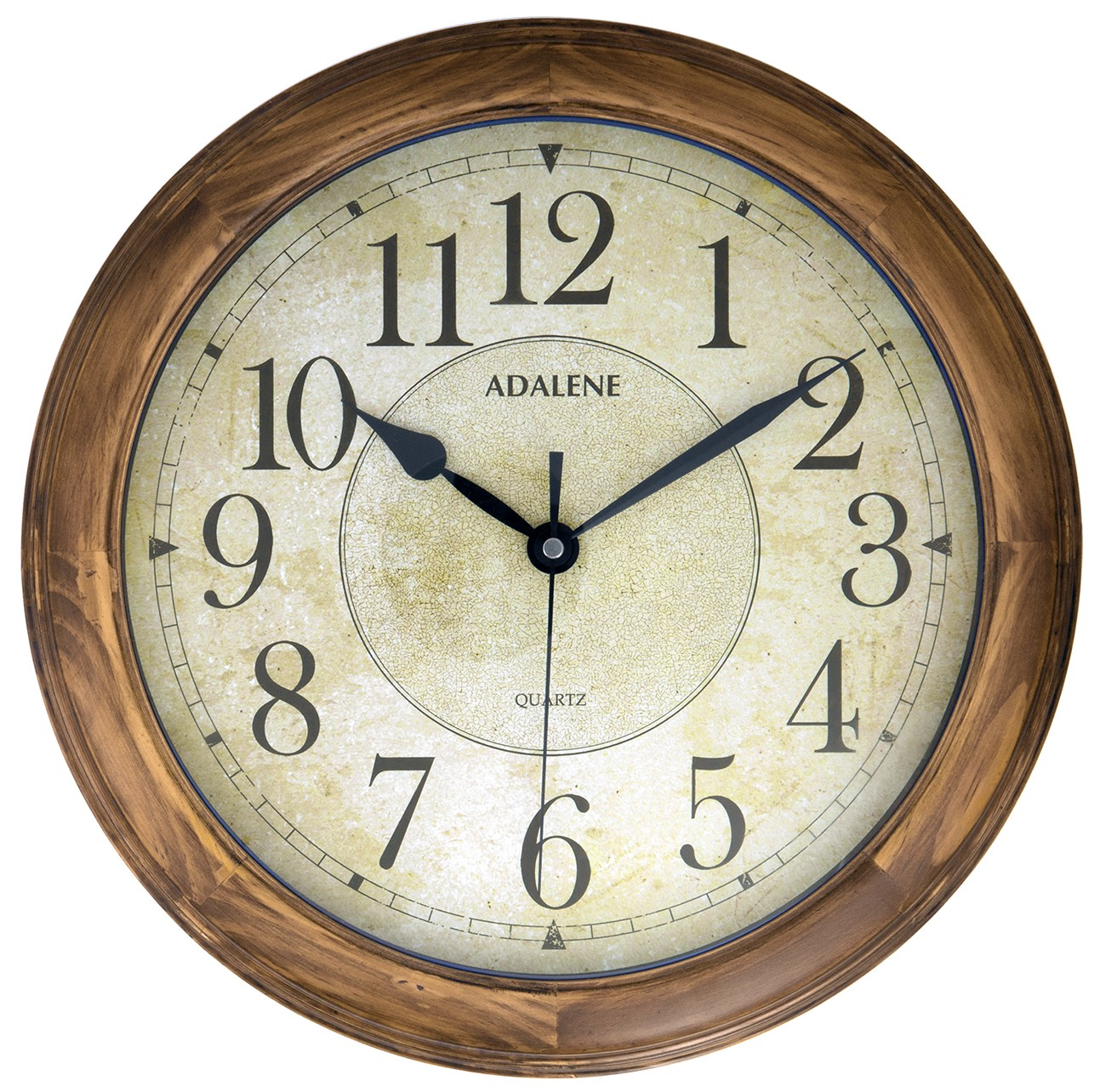 Adalene 14 inch large wall clock decorative living room for Family room wall clocks